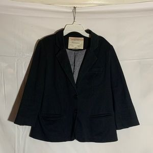 Anthropologie Cartonnier Black Blazer